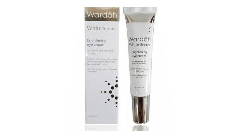 (gambar 1) Wardah White Secret Brightening Eye Cream