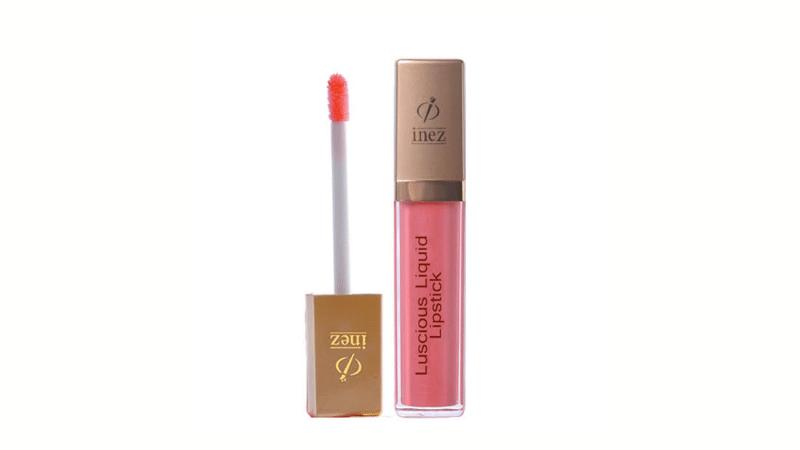 (Gambar 2) Inez Liquid Lipstik Lisght Coral