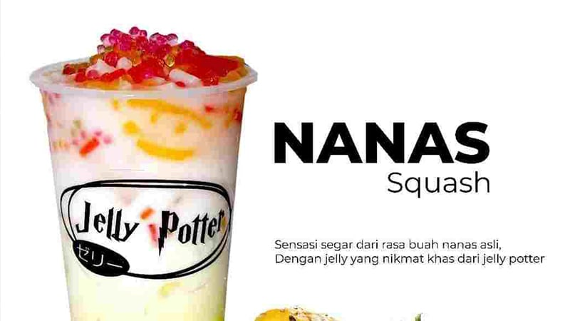 Yuk Intip Lezatnya Menu Favorite Jelly potter