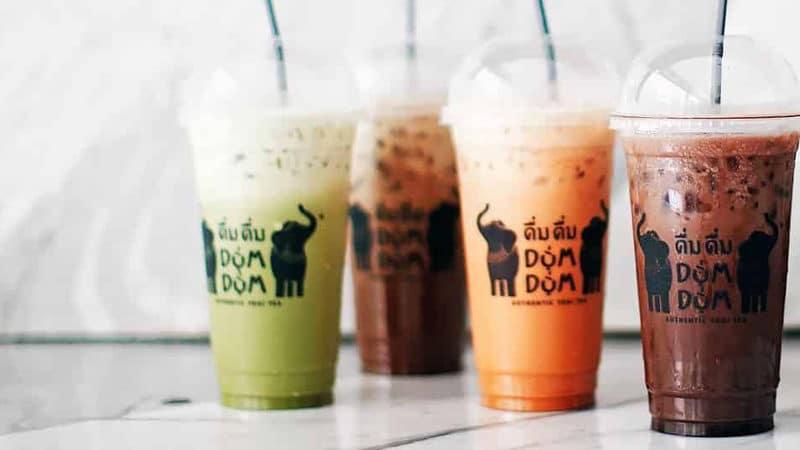 Resep Enak Dum Dum Thai Tea yang Bikin Nagih
