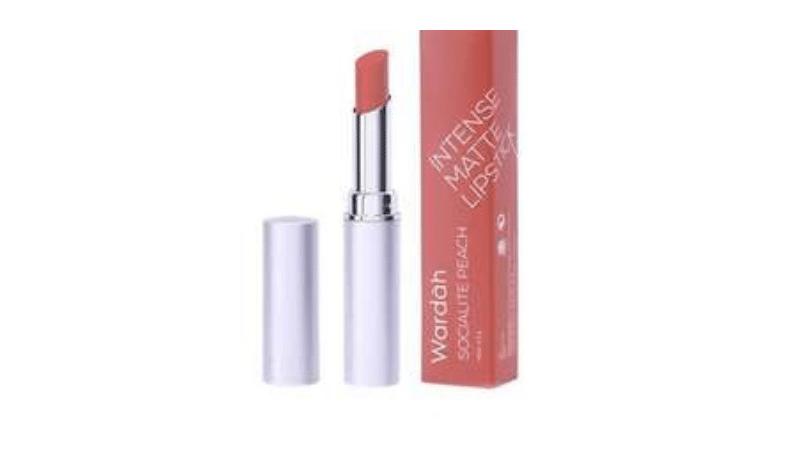Gambar 2. Wardah Intense Matte Lipstick shade Blushing Nude